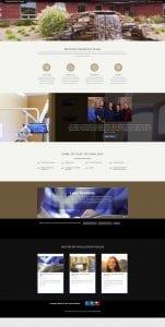 dental arts website design